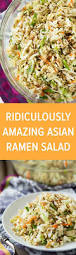 what to take to a thanksgiving potluck check out ridiculously amazing asian ramen salad it u0027s so easy to