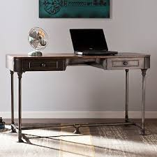 Rustic Writing Desk by Rustic Writing Desk Vintage Industrial Computer Workstation