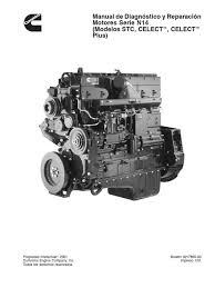 cummins manual de diagnostico y reparacion de motores serie 14