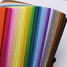 popular colored felt fabric buy cheap colored felt fabric lots