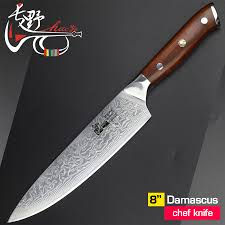 luxury kitchen knives 8 inch damascus chef knife japanese vg10 steel kitchen knives