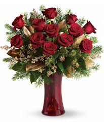 one dozen roses a christmas dozen virginia va