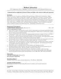 skills and experience keyword senior technical writer resume resume for study