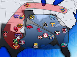 Lsu Map Sec Swallows The Xii