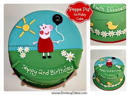 peppa pig birthday cakes cakes brisbane kids peppa pig