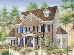 brick colonial house plans colonial house plans the house plan shop