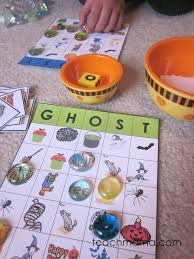 free printable halloween bingo game cards boo it u0027s ghost halloween bingo teach mama