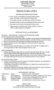 Warehouse Worker Skills For Resume Example Of A Warehouse Resume The Top Warehouse Work Experience
