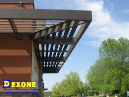 Aluminum Pergola Manufacturers by Fixed Exterior Aluminum Sunshade As Window Louver Buy Exterior
