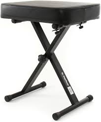 on stage stands kt7800 deluxe x style bench sweetwater