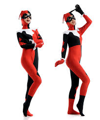 harley quinn jumpsuit harley quinn costumes black and fitted harlequin