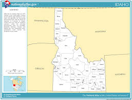 idaho zone map zones and fips code for counties in idaho genie s