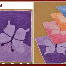 Purple Bath Rugs Bath Rugs U0026 Bath Mats Export And Sourcing Agency Panipat India