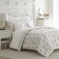 Laura Ashley Bedroom Furniture Laura Ashley Home Rosalie 3 Piece 100 Cotton Duvet Set By Laura