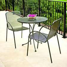 Patio Bistro Table Ideas Bistro Patio Table And Backyard Cedar Creek 3 Bistro