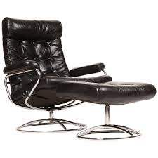 Lounge Chair Ottoman by Reclining Stressless Lounge Chair And Ottoman By Ekornes Lounge