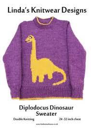 knitting pattern dinosaur jumper linda s knitwear designs children s motif sweaters