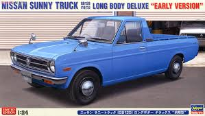 nissan trucks blue nissan sunny truck gb120 long body deluxe early type model