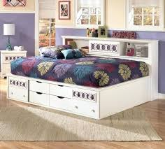 bookcase daybed with storage full size bookcase daybed captains graphite allen house kids 3