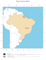 Blank South America Map World Single States Political Map With National Borders Each