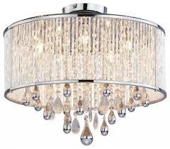 Drum Light Fixture by 185 Semi Flush Mount Sku V759 Dvp11012ch Cry Living Lighting