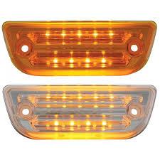peterbilt 379 cab marker lights big rig chrome shop semi truck chrome shop truck lighting and
