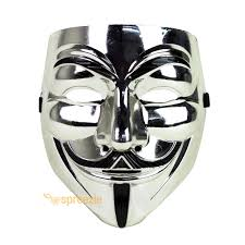 v for vendetta mask guy fawkes anonymous cosplay masquerade