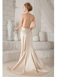 backless wedding dress halter backless bridal gown for summer 1st dress