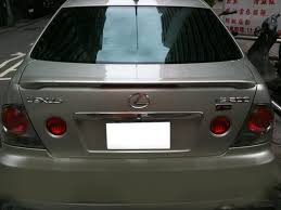 lexus is200 for sale nz painted process trunk spoiler for lexus is200 is300 1998 2005