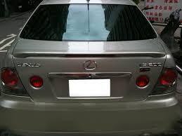 lexus is200 hk painted process trunk spoiler for lexus is200 is300 1998 2005