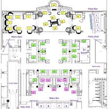 nightclub floor plan jackcolton las vegas nightclub map locations on las vegas strip
