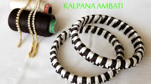 cross bracelet bangles images Criss cross silk thread bangles making video two colors bangles jpg