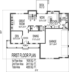 farmhouse plans with basement 2 story 4 bedroom farmhouse house floor plans blueprints building