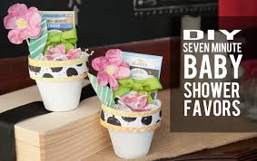 favor favor baby plant a seed seven minute to make baby shower favor tutorials