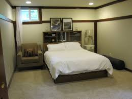 Bedroom No Wall Space Incredible Basement Bedroom Ideas With Comfortable Interior Space