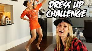 dress up challenge youtube
