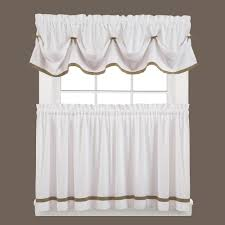 saturday knight kate 13 in l polyester valance in taupe