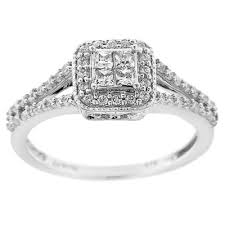 princess cut engagement rings zales 1 2 ct princess cut vintage style engagement ring in