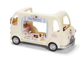 amazon com calico critters ice cream truck toys u0026 games
