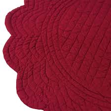 quilted placemats for round tables quilted round placemat series jan de luz linens