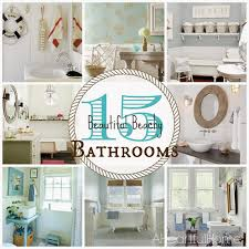 Beach Style Bathroom Vanity by Bathroom Cute Beachy Bathroom Vanities 83 Concerning Remodel