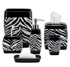 zebra print bathroom ideas elegance zebra print bath accessories with dashing ideas florist h g