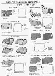 1968 mustang dimensions transmission identification