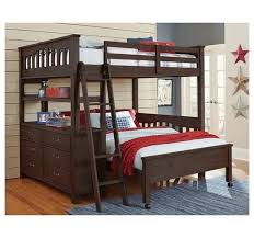 Lower Bed Frame Height Ne Highlands 11070nlfb Mission Style Bed With Lower Bed