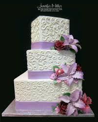 wedding cake lavender lilies wedding cake by artediamore on deviantart