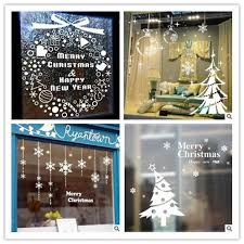 stickers for glass doors christmas removable wall sticker 20 design for choose home glass