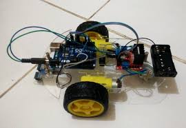 membuat robot elektronika cara membuat robot line follower arduino