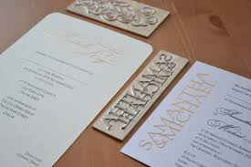 Printing Wedding Invitations Foil Printed Invitations