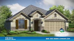 Lennar Homes Floor Plans by The Onyx Lennar Dallas New Home Tour Youtube
