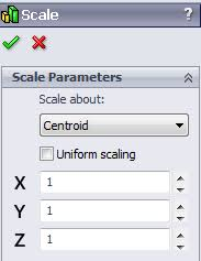 the bigger the better scale a part in solidworks solidwize